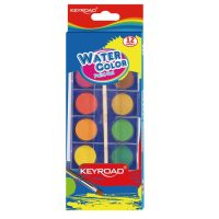 KR971352  WATER COLOR CAKE SET OF 12