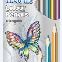 COLOR PENCIL KR971756 METALLIC COLOUR PK 12