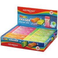 KR971842 NEON COLOR PVC ERASER