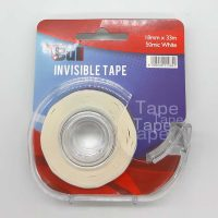 BULL TAPE DISPENSER WITH INVISIBLE 18MM TAPE