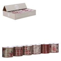 1082611-RIBBON RED 6 ASSORTED DISPLAY-L270XW6CM